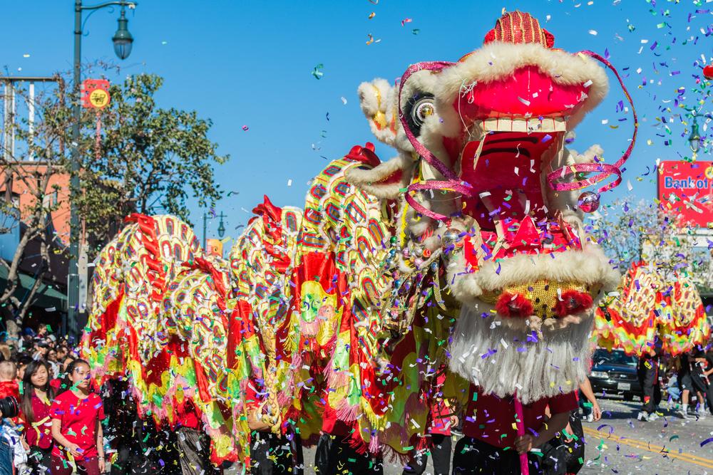 Commercial Apple over Chinees Nieuwjaar