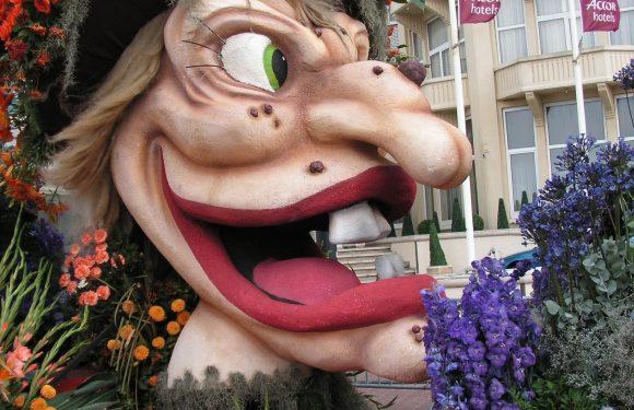 """""""Herriewagens"""" tijdens carnaval aan banden"""